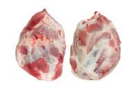 Pork shoulder 2D, hockless