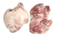 Pork leg, boneless 4D
