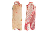 Pork belly bone-in with ribblet