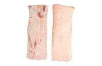 Pork back fat, rindless